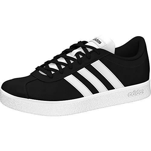 Adidas Vl Court 2.0 K, Zapatillas de deporte Unisex niño, Negro Negbas Ftwbla 000, 28 EU