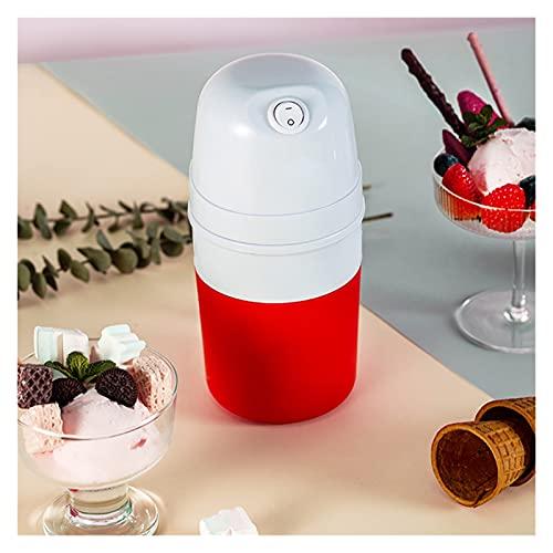 Ice Cream Maker Machine Kids, Hemlagad Glassmakare Med Inbyggd Frys, 400ml Automatisk Mjuk Servering Glassmaskin, 13.4×10.5×21.2cm