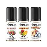NEBULA kit 3 Aromi FRUTTATI - MADE IN ITALY