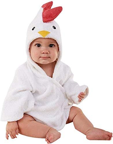Eastery Kinder Bademantel Baby Cotton Animal Bade Strickjacke Cardigan Nightgown Spa Einfacher Stil Handtuch Strandtuch Basic Bequem Fashion Cute Kinder Kleidung