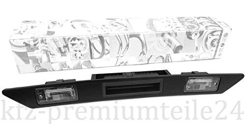 Preisvergleich Produktbild Original Audi Griffleiste Heckklappe Öffner Taster Schalter Heckschloß Kennzeichenleuchten