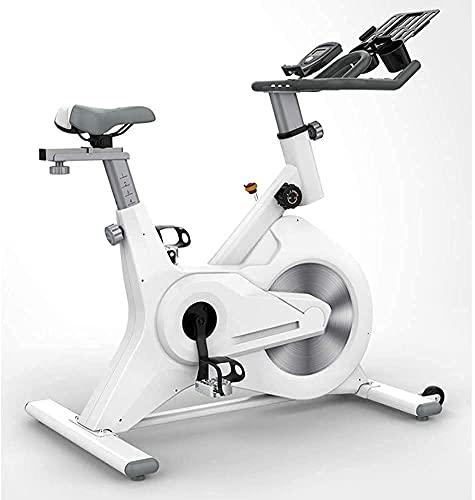 SAFGH Bicicleta estática para Interiores, Dispositivo de Entrenamiento para Bicicletas Control magnético Pantalla LCD Monitorización del Ritmo cardíaco Carga máxima 130 kg Adecuado para Ejercicio