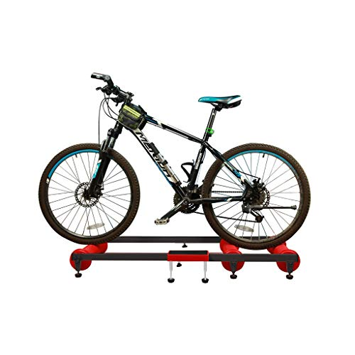 Bike Trainer Rollers - Adjustable Indoor Fitness Cycling Parabolic Roller Bike Trainer Stand with Resistance for MTB Road Bike Exercise , Home Cycling Training