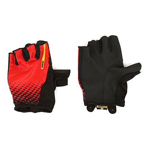 guanti mavic Mavic Cosmic Guanti da ciclismo breve rosso/nero 2017
