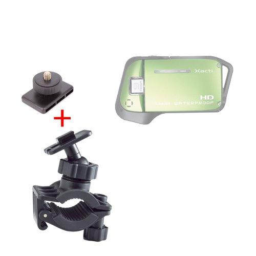 DURAGADGET Support/Fixation vélo et Bicyclette pour caméra embarquée Sanyo Xacti CA9 Caméscope Numérique HD