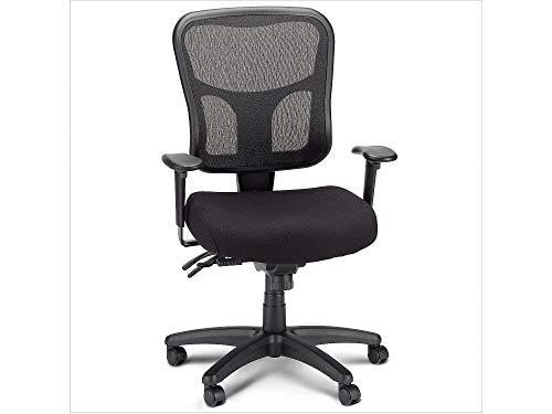 Tempurpedic Tempur-Pedic TP8000 Ergonomic Mesh Mid-Back Task Chair (Black)
