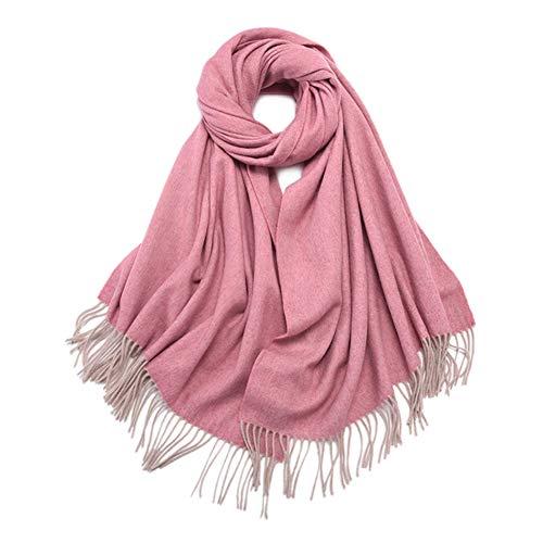 TIANPIN winter warme kasjmier sjaal herfst winter wrap stoles sjaal 100% pure wol kwasten soft stoles sjaal unisex