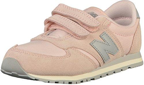 New Balance Unisex-Kinder KE420-NSY-M Sneaker, Grau (Dunkelgrau/Weiß Dunkelgrau/Weiß), 31 EU