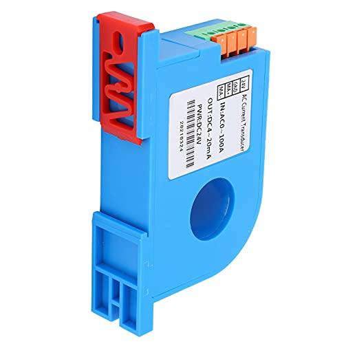 AC Current Transmitter DC4‑20mA Output Power Distribution Control Current Transformer Medium Low Voltage Equipment AC Current Sensor Split Core Transformer