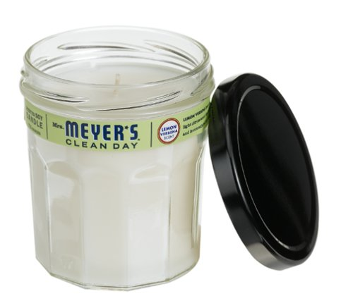 Mrs. Meyer's Clean Day Soy Candle, Lemon Verbena, 7.2-Ounce Jars (Pack of 6) by Mrs. Meyer's Clean Day
