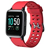 Smart Watch for Android and iOS Phone 2019 Version IP68 Waterproof,YAMAY Fitness...