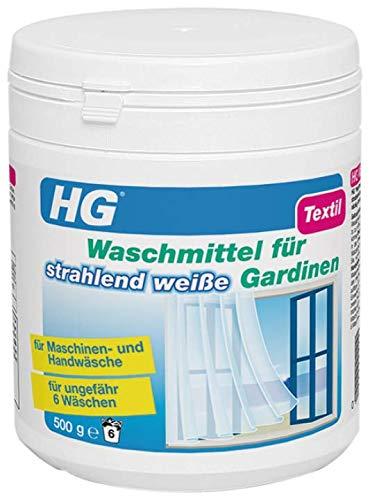 HG Waschmittel für strahlend weiße Gardinen