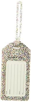 Kate Spade Luggage Tag Multi Glitter  175936