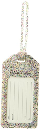 Kate Spade Luggage Tag, Multi Glitter (175936)