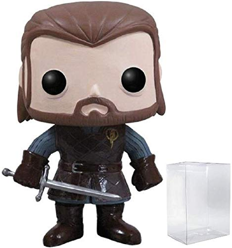 Game of Thrones: Ned Stark Funko Pop Vinyl Figure (Includes Compatible Pop Box Protector Case)