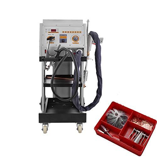 Moracle Máquina de Soldadura de Pernos 5600AMP Doble Antorcha de Soldadura Panel del Vehículo Tirador de Puntos Dent Spotter para Reparación de Automóviles DL-4500
