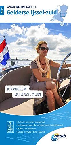 Waterkaart 07 Gelderse IJssel 1:50 000 (ANWB waterkaart (7))