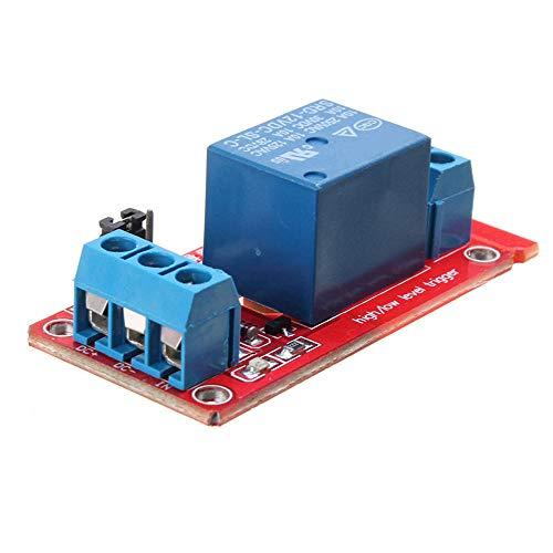 MING-MCZ Duradero 1 Módulo de relé 12V Canal de Nivel de Disparo acoplador óptico for 20pcs Fácil de Montar