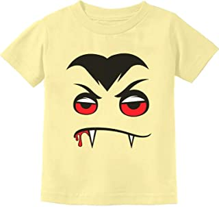 Tstars - Halloween Easy Costume Vampire Face Infant Kids T-Shirt