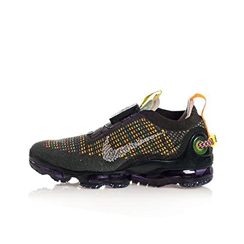 Nike Air Vapormax 2020 FK Uomo Running Trainers CW1765 Sneakers Scarpe (UK 8.5 US 9.5 EU 43, Newsprint College Grey Black 001)