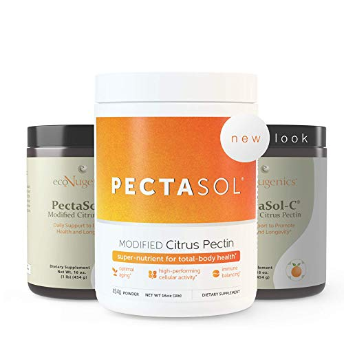 EcoNugenics - PectaSol-C Modified Citrus Pectin - 454 Grams | Professionally Formulated to Help Maintain Healthy Galectin-3 Levels | Supports Cellular & Immune System Health | Safe & Natural