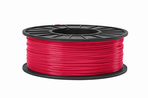 ABS 3D Filament 1.75mm Diameter - Red -1kg
