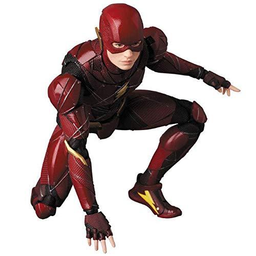 ZHAOHUIFANG La Liga De La Justicia De Flash Barry Allen Articulado Movible Estatua Muñecas Modelo sobre High -19cm