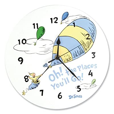 Trend Lab Dr.Seuss Wall Clock