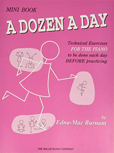 A Dozen a Day Mini Book (A Dozen a Day Series)