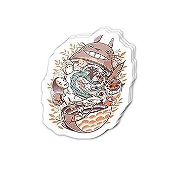 My Neighbor Matryoshka Totoro Anime Cartoon Art - Sticker Graphic - Auto Wall Laptop Cell Truck Sticker for Windows Cars Trucks