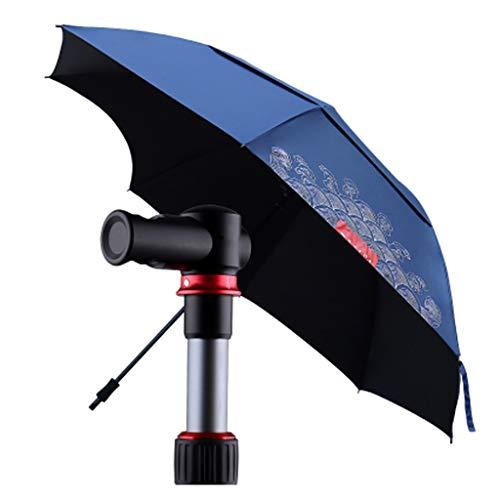 LWH parasols, marktparasols, uv-bescherming, UPF 50 +, tuinscherm, terrasscherm, zonwering, waterdicht, zonder houder, 360 graden universele rotatie, voor tuin, balkons