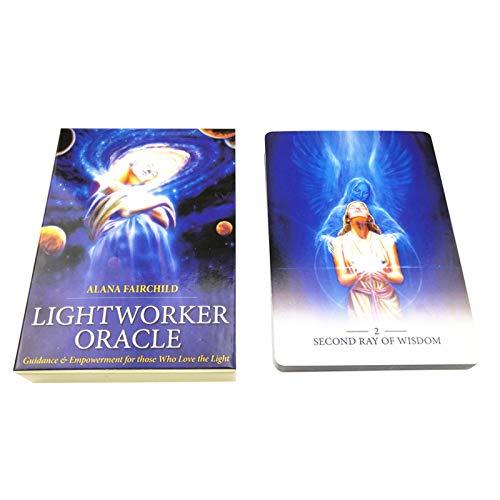 llio Lightworker Oracle 44 Cards Deck Rebajas Viernes Negro 2020 Juego de...