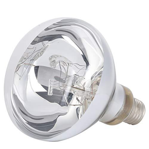 Lámpara de bulbo de calor para reptiles, 220-240V 100W Bulbo de calor para reptiles. Bombilla de emisión de calor de espectro completo para tortuga y lagarto. Adecuado para el crecimiento de lagartos