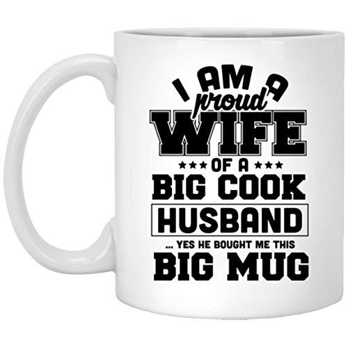 I am a Proud Wife of a big Cock Husband Valentine Day Mug