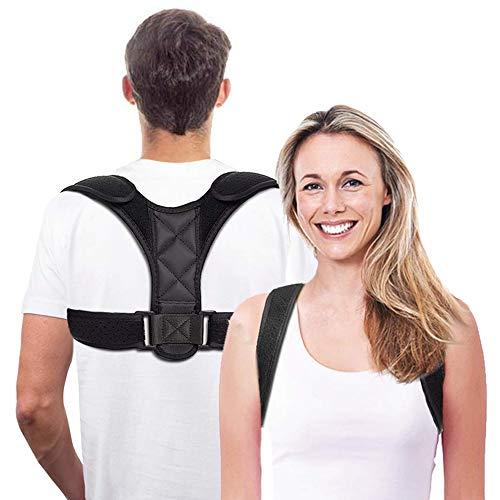 ShengRuHai Geradehalter zur Haltungskorrektur Rückenstütze Rückentrainer Schultergurt Haltungstrainer Posture Corrector für Nacken Rücken Schulterschmerzen für Herren und Damen (Unisex)
