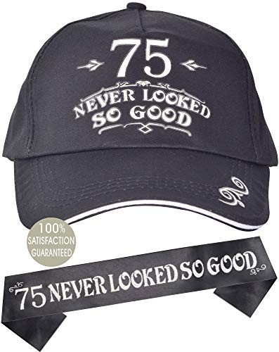 75 Never Looked so Good Hat & Sash Set for Men