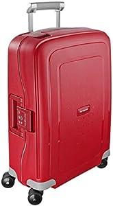 Samsonite S'Cure Spinner S - Maleta de equipaje, S (55 cm - 34 L), Rojo (Crimson Red)