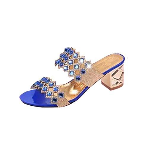 PAOLIAN Sandalias Chanclas Mujer Verano 2018 Zapatos
