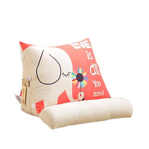 LF- Driehoek pad bank kussen 45cm / 60cm kussen driehoek pad matras kantoor bed kussen nekkussen multicolor ondersteuning (Color : G, Size : 60cm)