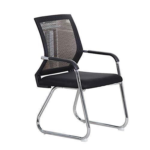 Mesh Zurück Gast Stuhl, Bürostuhl-Rückenstütze-Ineinander greifen-Stuhl mit Armlehnen, Metall Cantilever Sockel mit Kippschutz Glides für Sicherheit