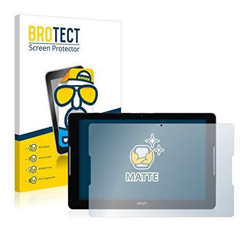 BROTECT 2X Entspiegelungs-Schutzfolie kompatibel mit Acer Iconia One 10 B3-A32 Bildschirmschutz-Folie Matt, Anti-Reflex, Anti-Fingerprint