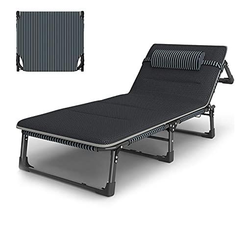 XL 193x68cm klappbarer Zero Gravity Lounge Chair Breiter Liegestuhl mit gepolsterten und Kissen Patio Outdoor verstellbare Esszimmer Liege Klappstühle für Deck Patio Beach Yard, Unterstützung 180kg