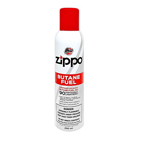 Zippo Butane Fuel | 5.82 Oz | 165 Grams | 1-Pack