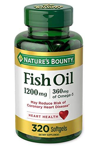 Nature's Bounty Fish Oil, 1200mg,…