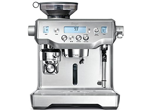 Sage Appliances the Oracle Macquinas de Expreso, 2400 W, 1 cups, Acero inoxidable cepillado