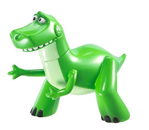 Disney/Pixar Toy Story Buddy Singles 20th Anniversary Rex Action Figure by Mattel
