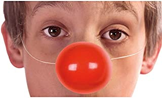 Aptaf锚tes - AC2420 - Pack of 6 Child/Adult Clown Noses with Elastic