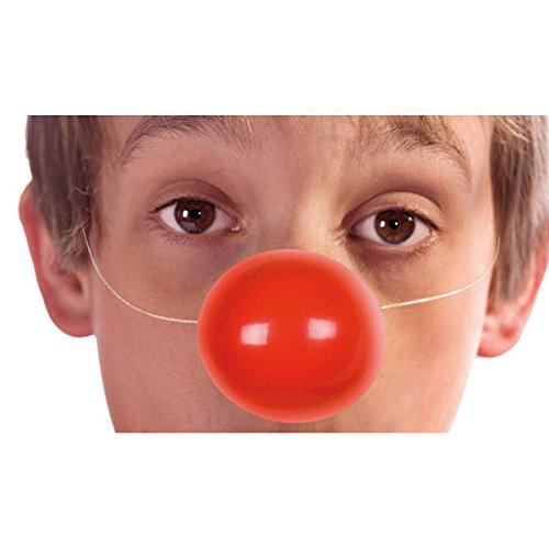 Boland Aptafêtes?ac2420?Bustina di 6naso di clown bambino/adulto con elastico