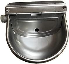 Caballo de acero inoxidable automático Animal Stock Waterer por Rabbitnipples.com