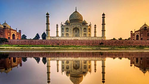 Rompecabezas 1500 Piezas Adultos De Madera Niño Puzzle   Taj Mahal   Juego Casual De Arte Diy Juguetes Regalo Interesantes Amigo Familiar Adecuado